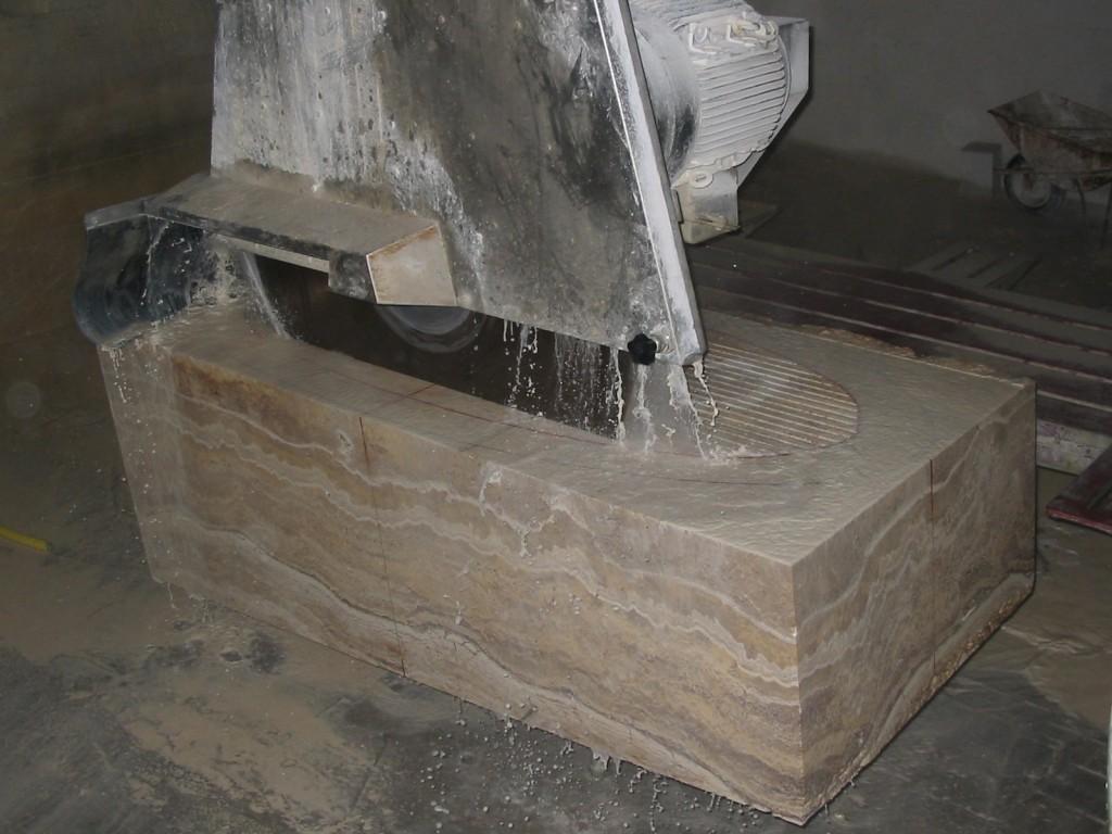 изготовление ванны из камня