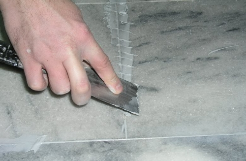 подготовка мрамора