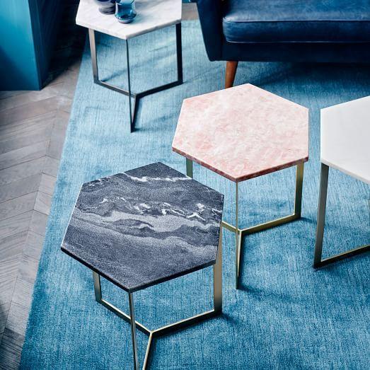 кофейный столик из мрамора
