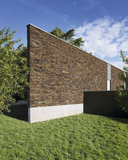 каменная облицовка фасада
