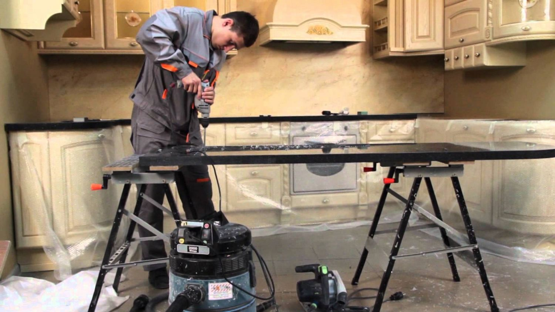 Как сделать изготовление искусственного камня столешниц