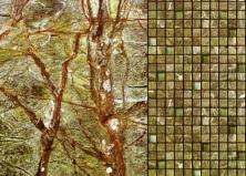 Мозаика из камня, применение в дизайне