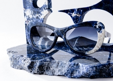 Синий мрамор