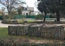 Поставка гранита в Приморский парк Ялты