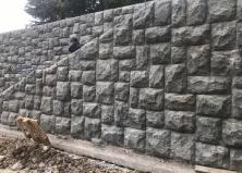 Продолжаем работы по реставрации гранитной кладки