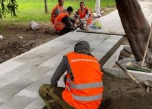 Старт работ по реконструкции сквера им. Калинина
