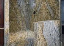 Душевая из натурального камня
